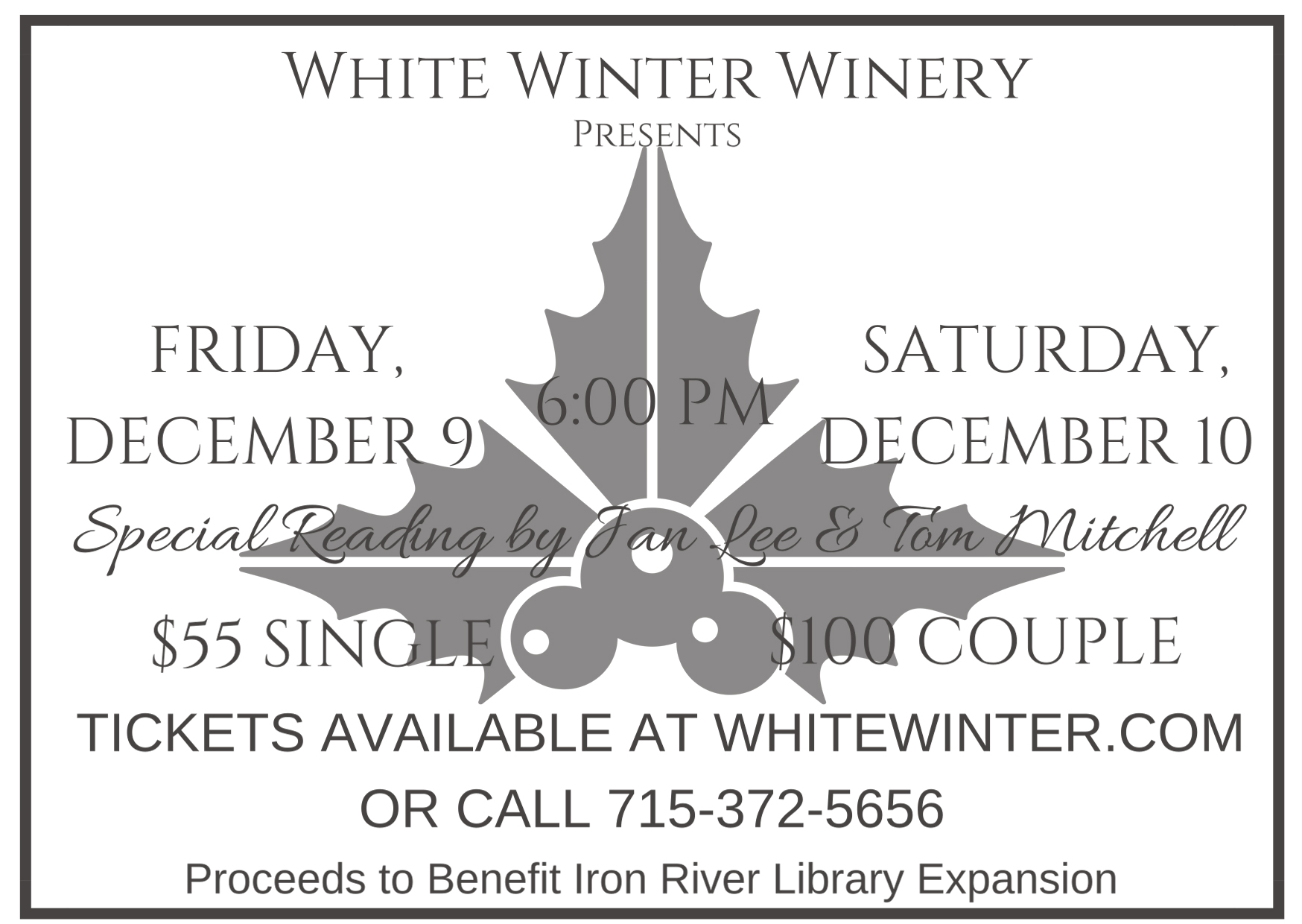 Family Owned White Winter Winery Specializes in Mead